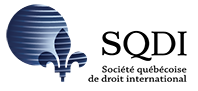 Soci�t� qu�b�coise de droit international